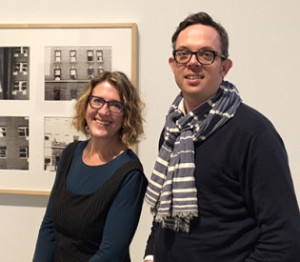 Professors Shannon Jackson and Nicholas De Monchaux are co-teaching a new Big Ideas class headquartered at BAMPFA. (Photo by Lauren Pearson)